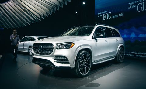 2020 Mercedes-Benz GLS: Redesign, Options, Release >> 2020 Mercedes Benz Gls Large Luxurious Three Row Suv