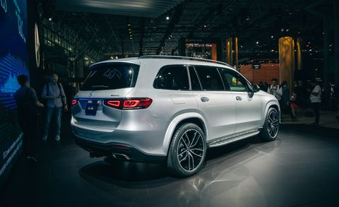 2020 Mercedes-Benz GLS - Large, Luxurious Three-Row SUV