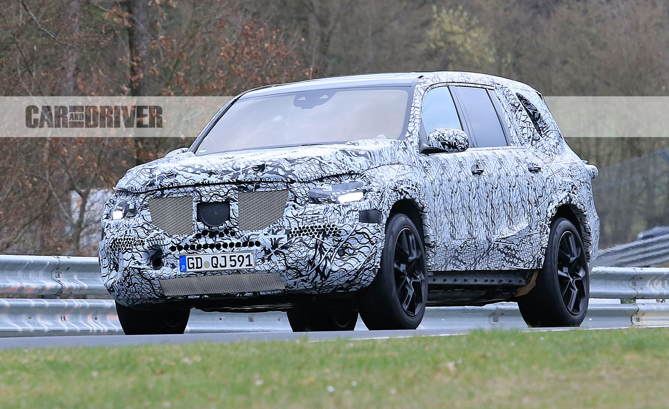 Spied On The Nurburgring 2020 Mercedes Benz Gls Suv News Car