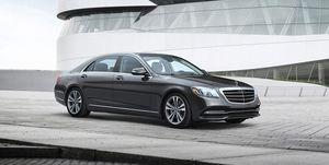 2020 Mercedes-S-class front