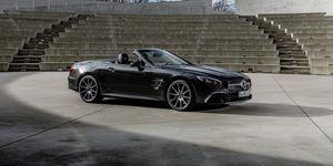 2020 Mercedes-Benz SL-class front
