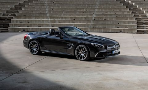 Watch the Current Mercedes-Benz SL Fade to Black with This Grand Edition