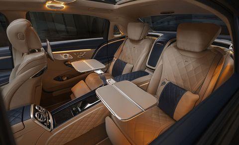 2020 Mercedes-Maybach S560 interior