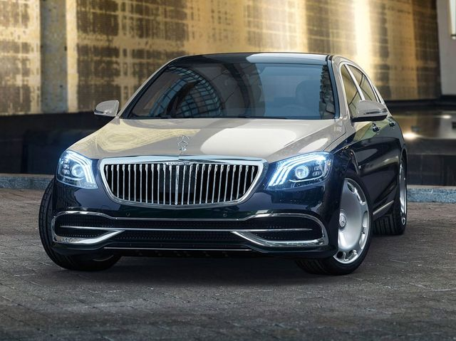2020 Mercedes-Maybach S560 front