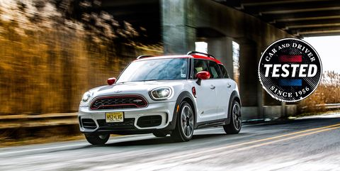 301-HP Countryman JCW Is the Quickest Mini We've Ever Tested