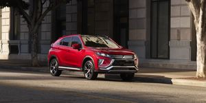 2020 Mitsubishi Eclipse Cross front