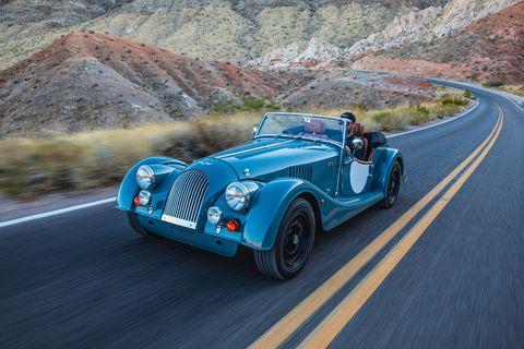 Land vehicle, Vehicle, Car, Classic car, Vintage car, Classic, Morgan plus 8, Antique car, Morgan +4, Coupé,