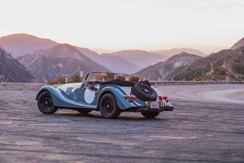 Land vehicle, Vehicle, Car, Vintage car, Classic car, Antique car, Coupé, Morgan +4, Sports car, Convertible,