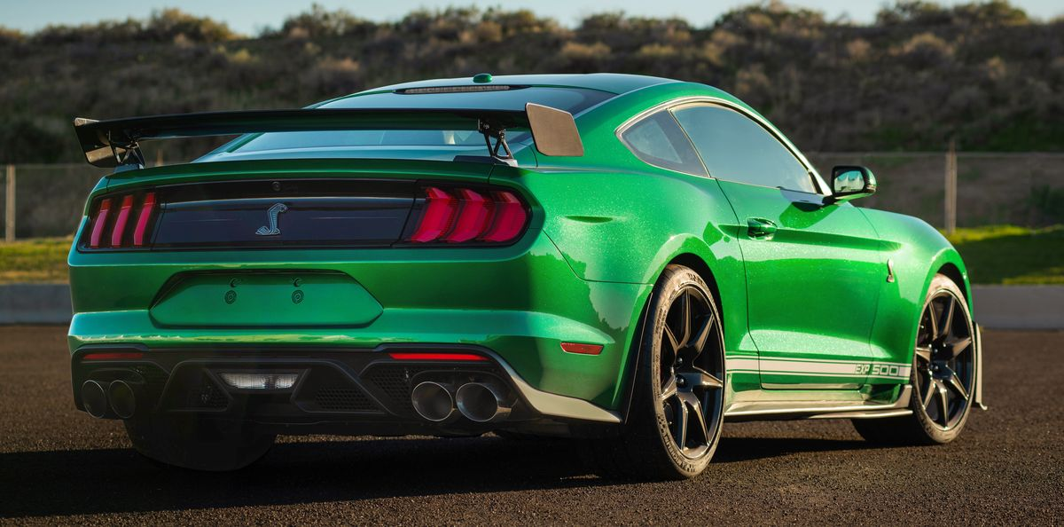 First 2020 Ford Mustang Shelby GT500 Rolls Off Line in ...