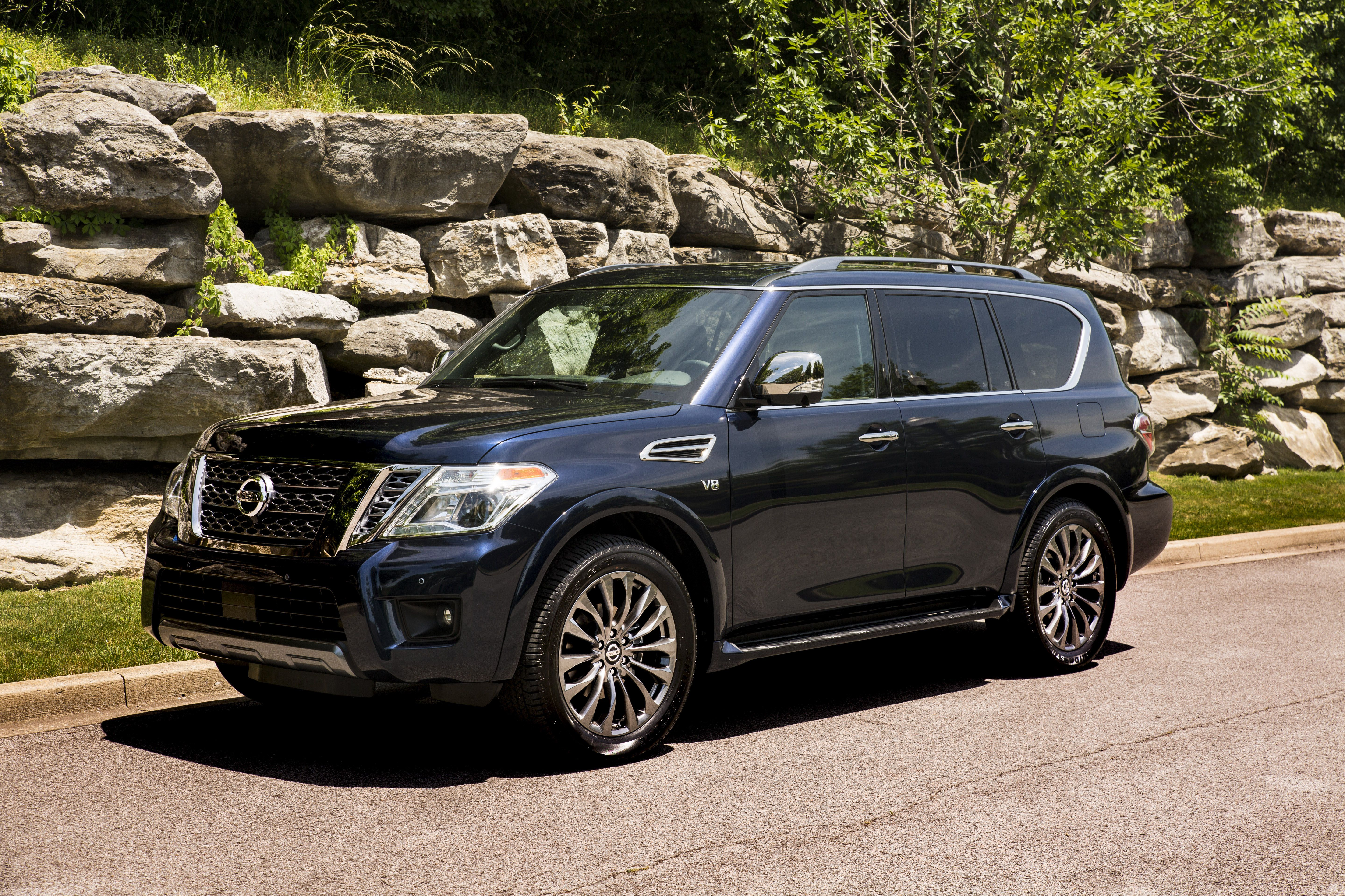 2020 Nissan Armada Review Pricing And Specs
