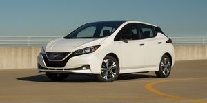 2020 Nissan Leaf front