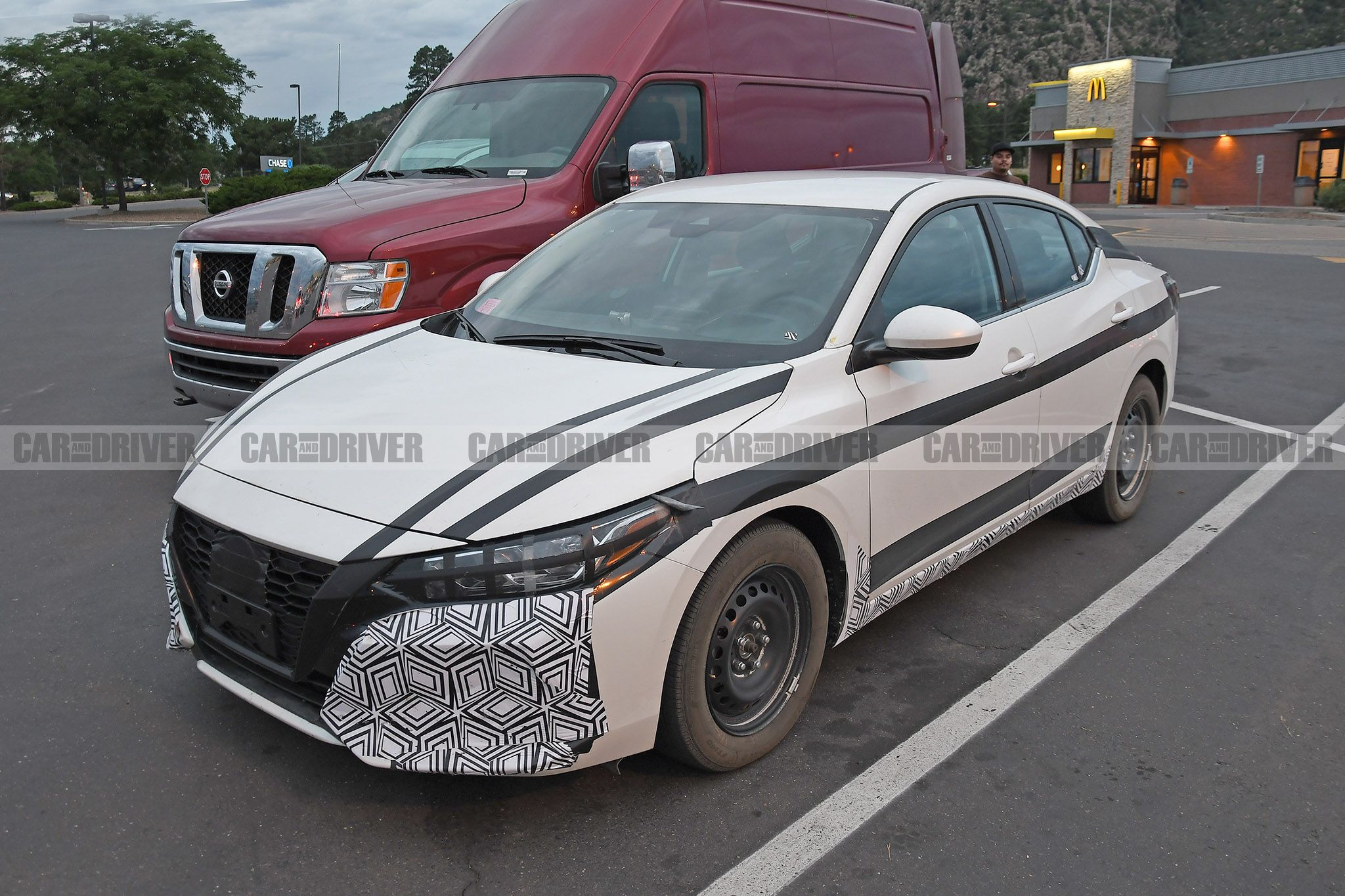 Nissan Sentra 2020 Review.2020 Nissan Sentra Spied In Base Form With A Manual Transmission
