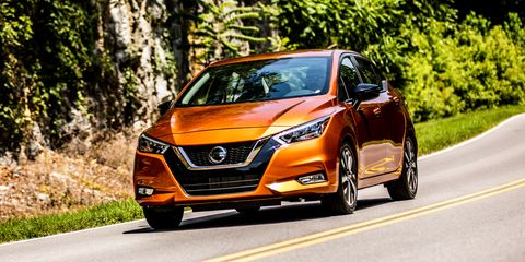 The 2020 Nissan Versa Transforms from Rental to Regal