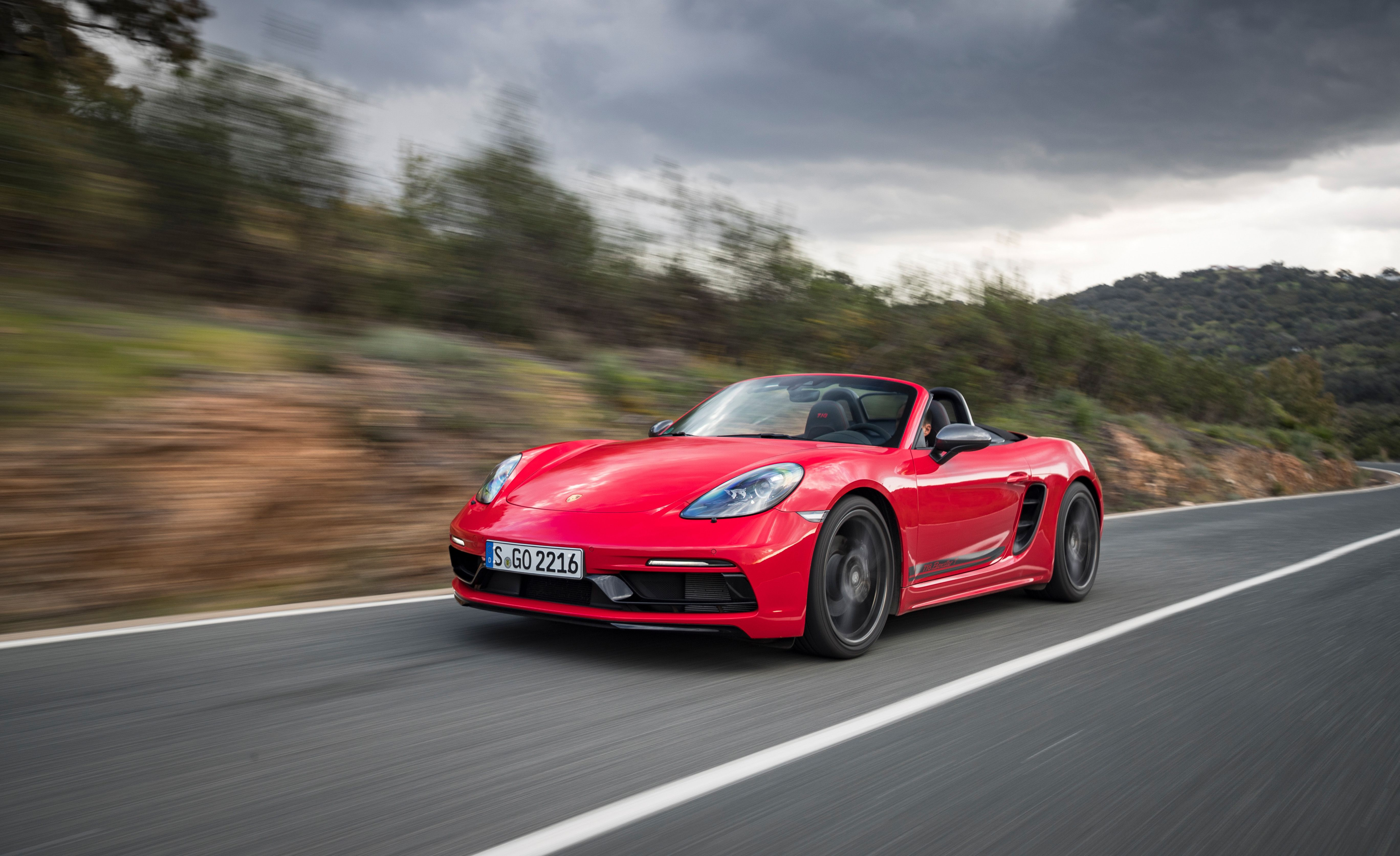 2020 Porsche 718 Boxster T And Cayman T First Drive