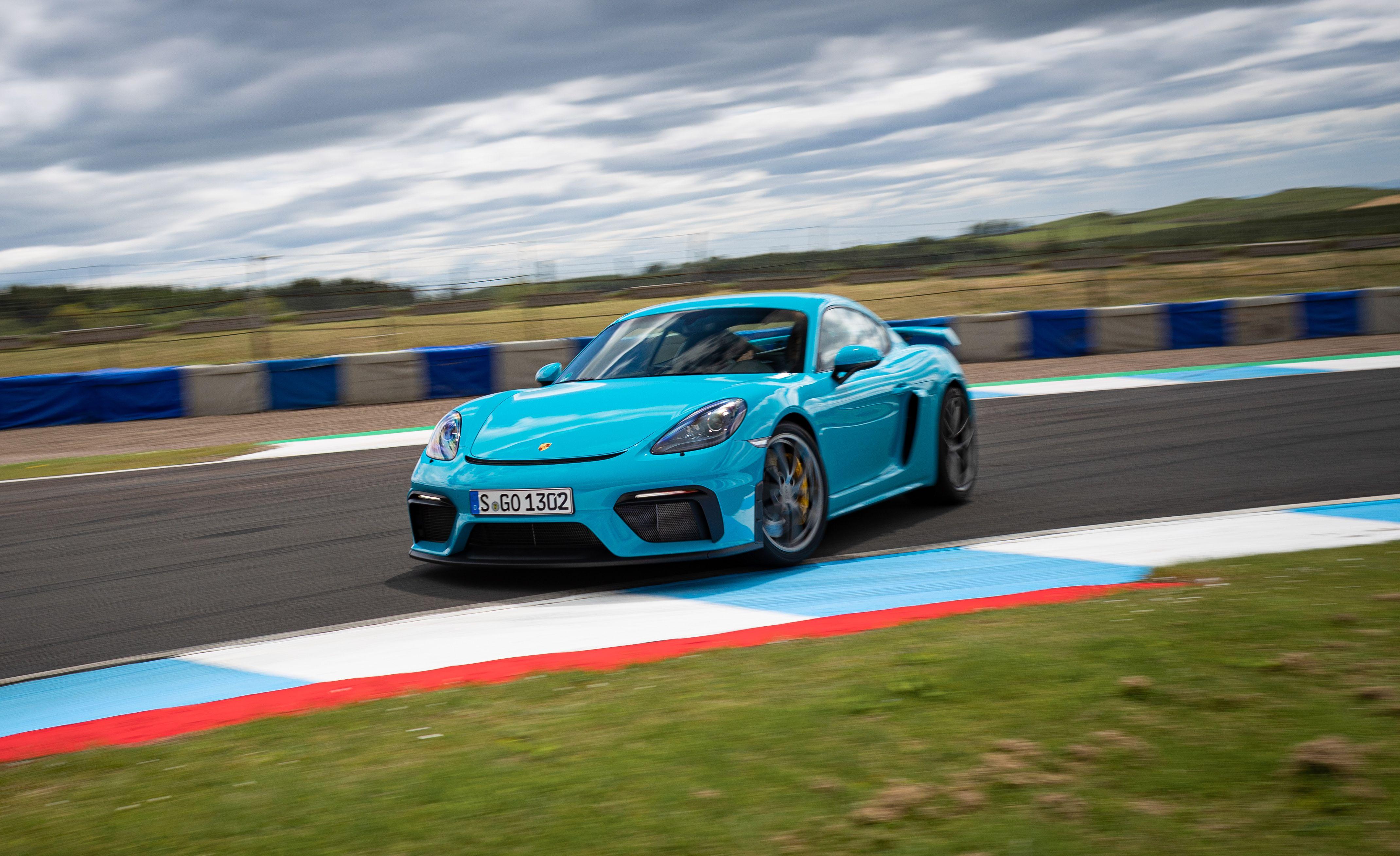 We Pummel the 2020 Porsche 718 Cayman GT4 and Spyder around