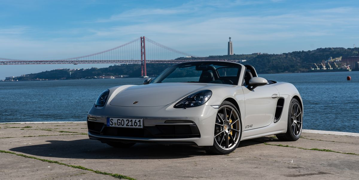 See Every Angle of 2020 Porsche Boxster and Cayman GTS