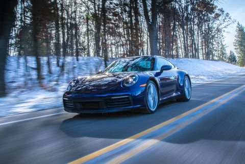 More Grip Makes the 2020 Porsche 911 Carrera 4S Quicker