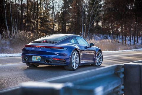 2020 Porsche 911 4s Is A Four Season Sports Car