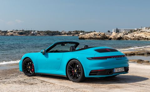 2020 Porsche 911 Carrera S Cabriolet Open Air Driving Therapy