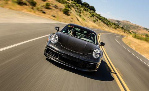 2020 Porsche 911 prototype