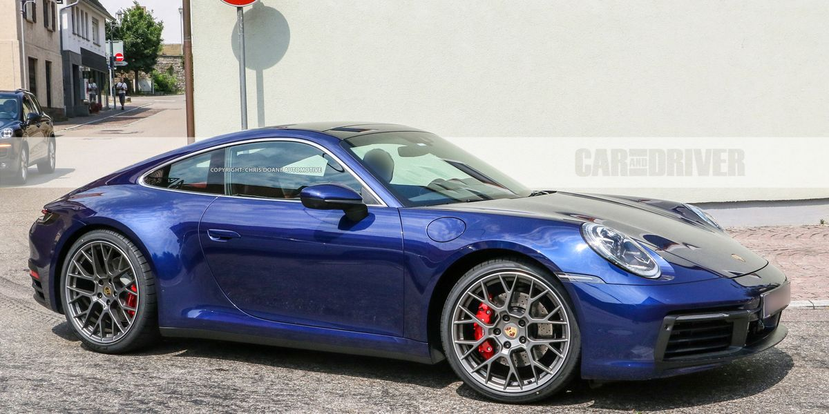 2020 Porsche 911: Fully Nude Save for a Couple Pieces of ...