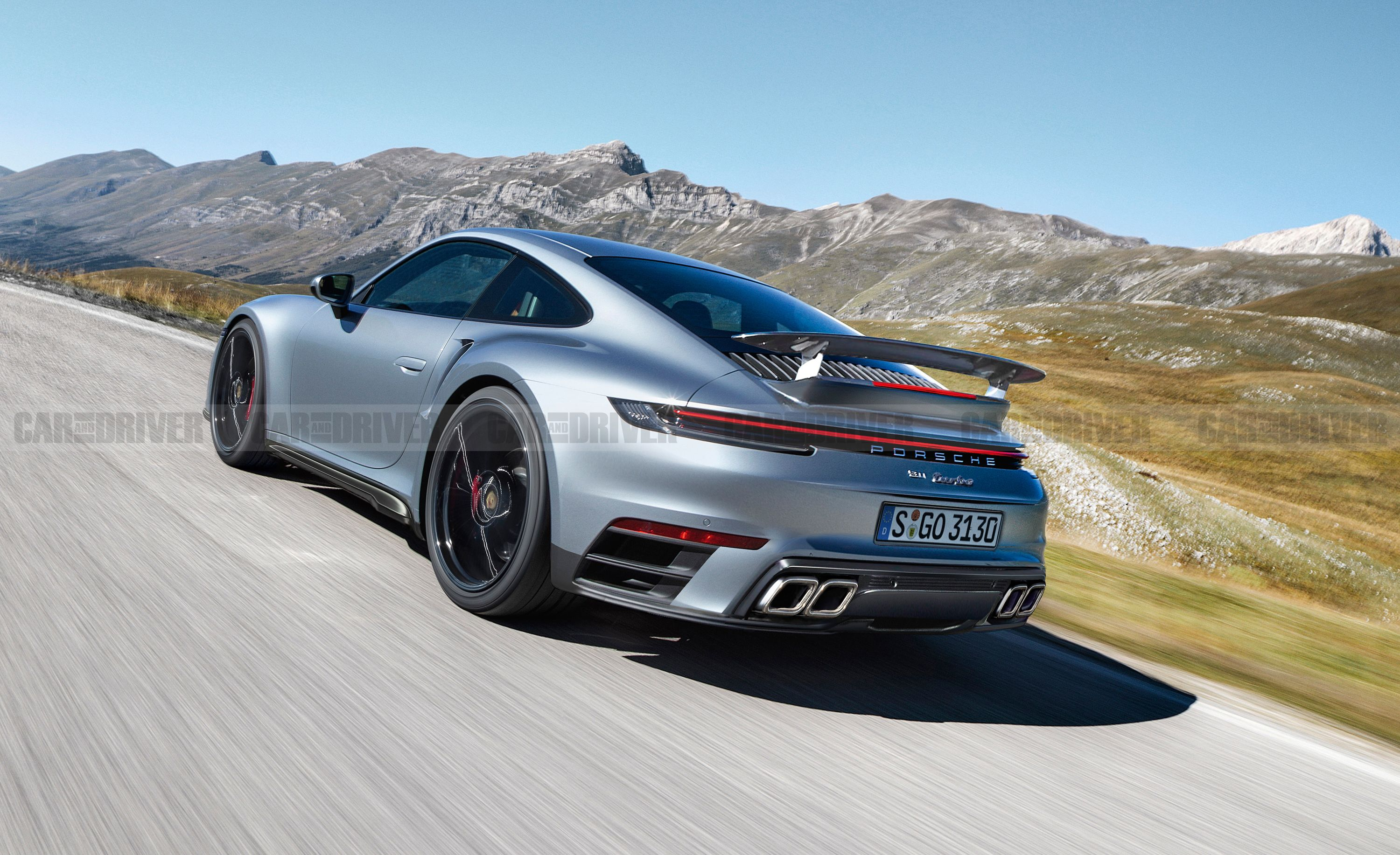 Porsche 911 Turbo \u2013 Future 992,Generation Model
