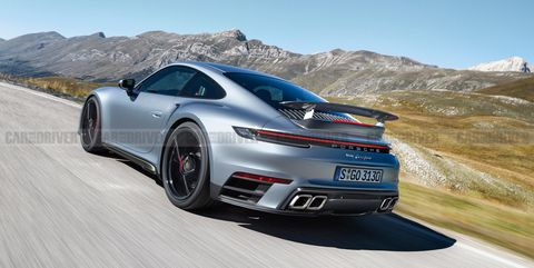 The New 992-Generation Porsche 911 Turbo Could Top 600 HP