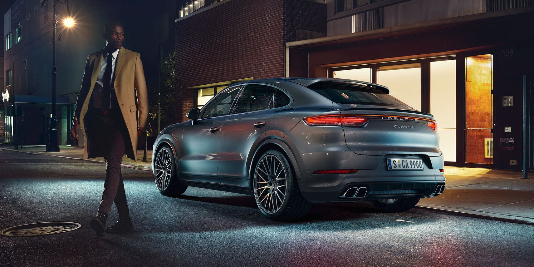 See Photos of the New 2020 Porsche Cayenne Coupe