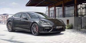 2020 Porsche Panamera Turbo front