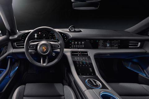 What's Taycan You So Long? Look at The New Electric Porsche's Interior