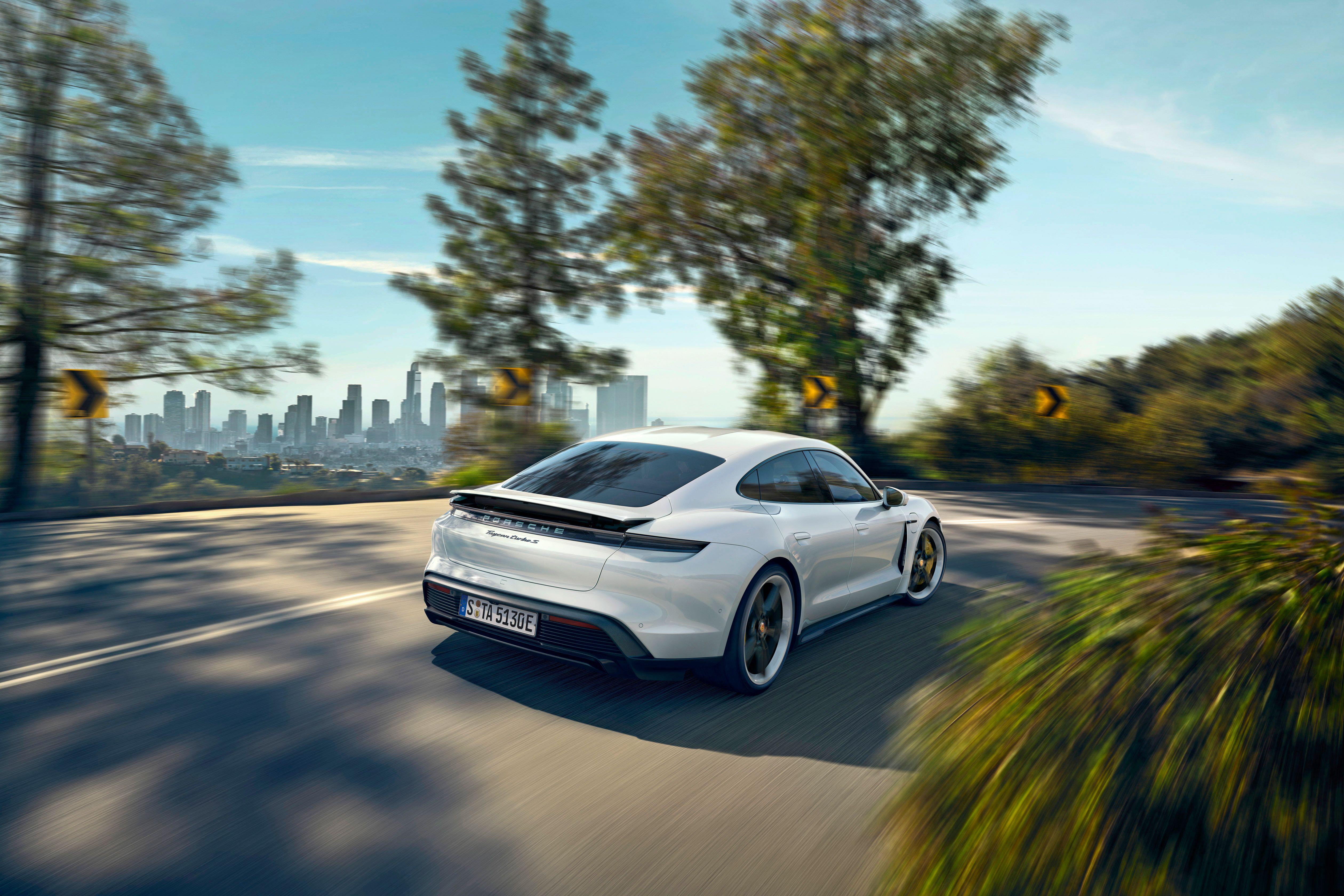2020 Porsche Taycan EV Everything We Know