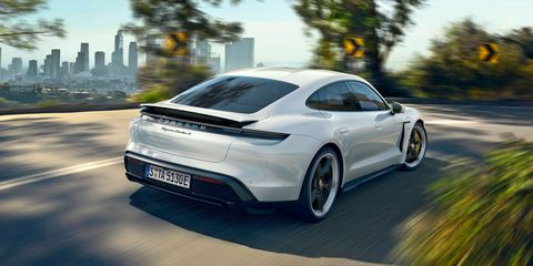 2020 Porsche Taycan Electric Sports Sedan Is the First Real Threat to Tesla