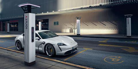 Porsche Taycan's 800-Volt Architecture Enables Slimmer Wiring, Faster Charging, Less Heat