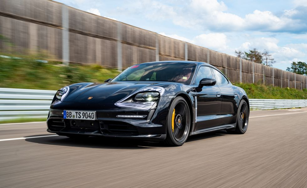2020 Porsche Taycan EV Drives Like a True Sports Sedan