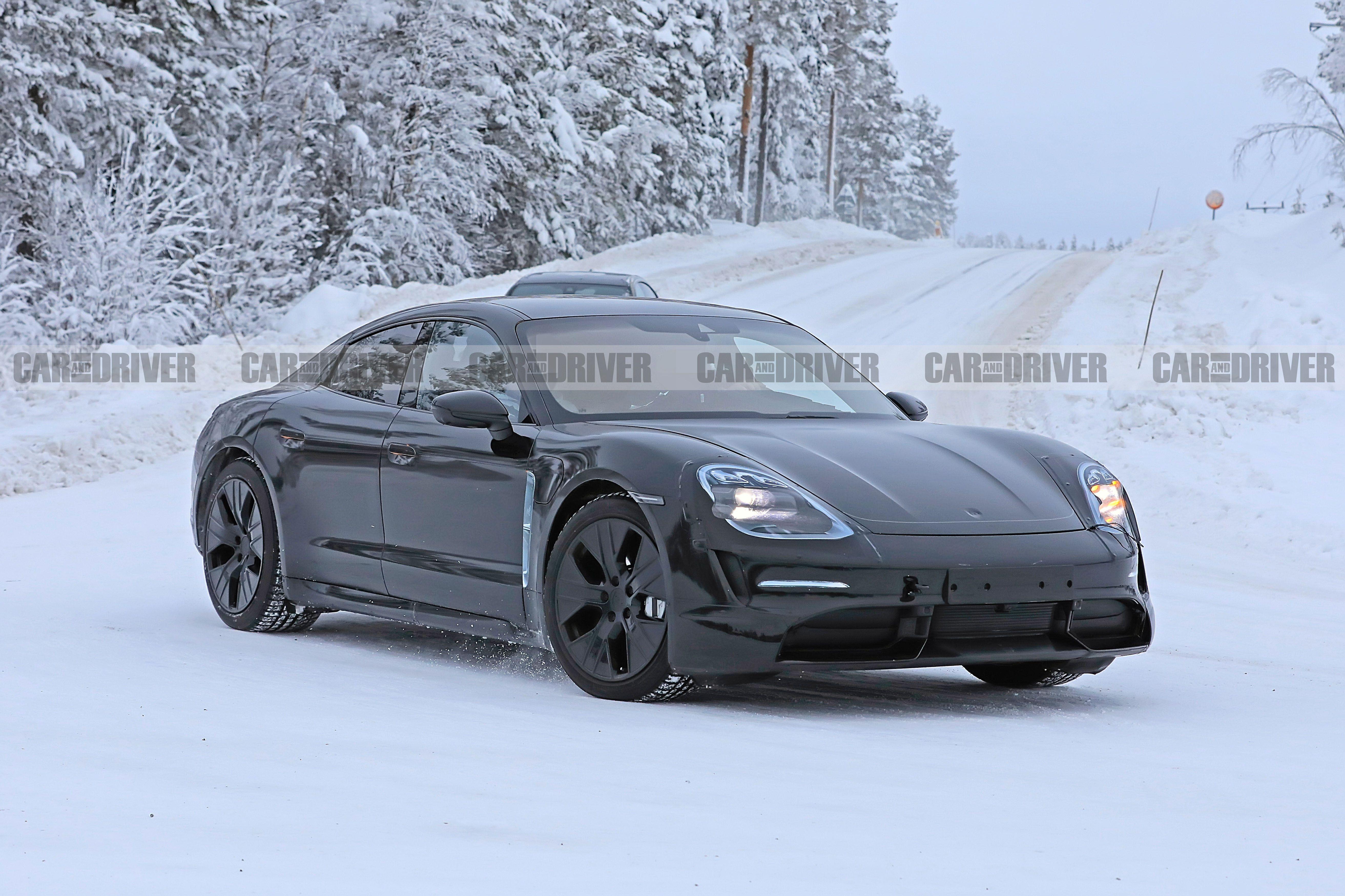 2020 Porsche Taycan EV , New Detailed Spy Photos