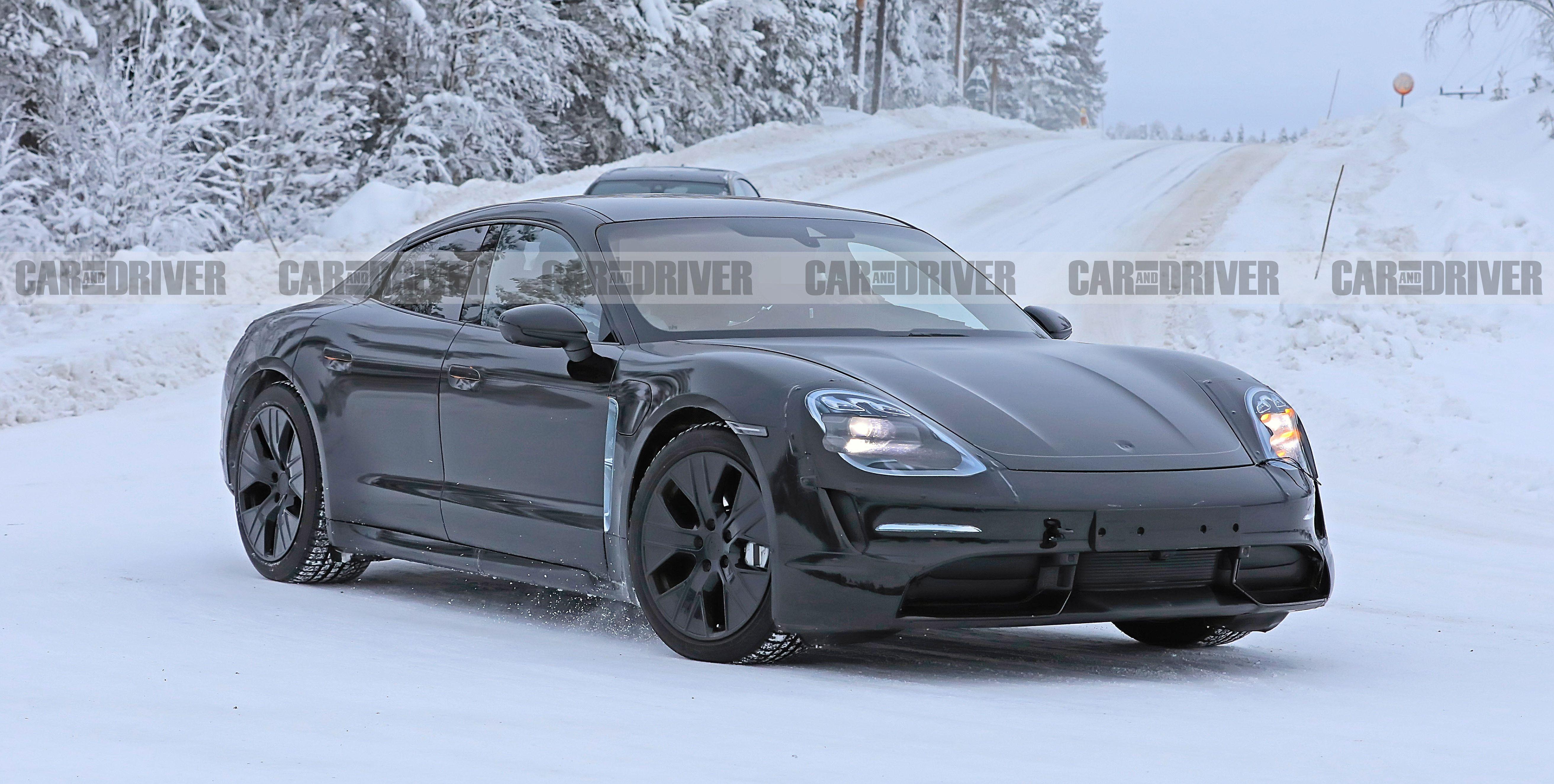 New 2020 Porsche Taycan EV Details Revealed in Spy Photos