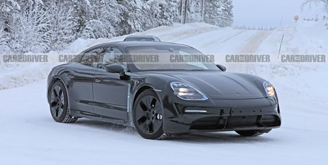 2020 Porsche Taycan EV - New Detailed Spy Photos