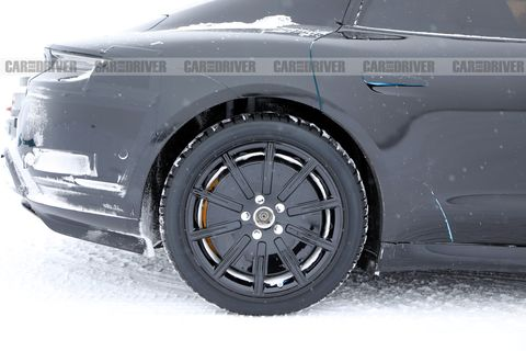 2020 Porsche Taycan spy photo