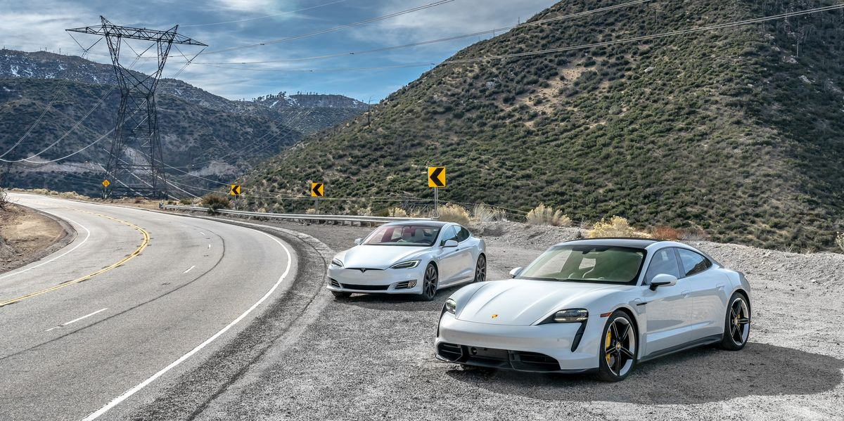 Porsche Taycan vs. Tesla Model S: The Test
