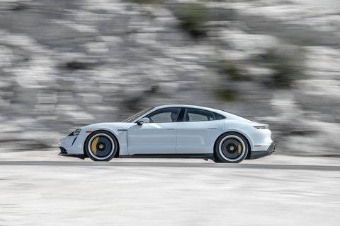 2020 Porsche Taycan Turbo S Vs 2020 Tesla Model S Performance