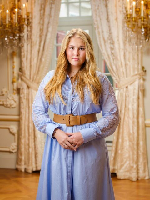 prinses amalia nieuw portret
