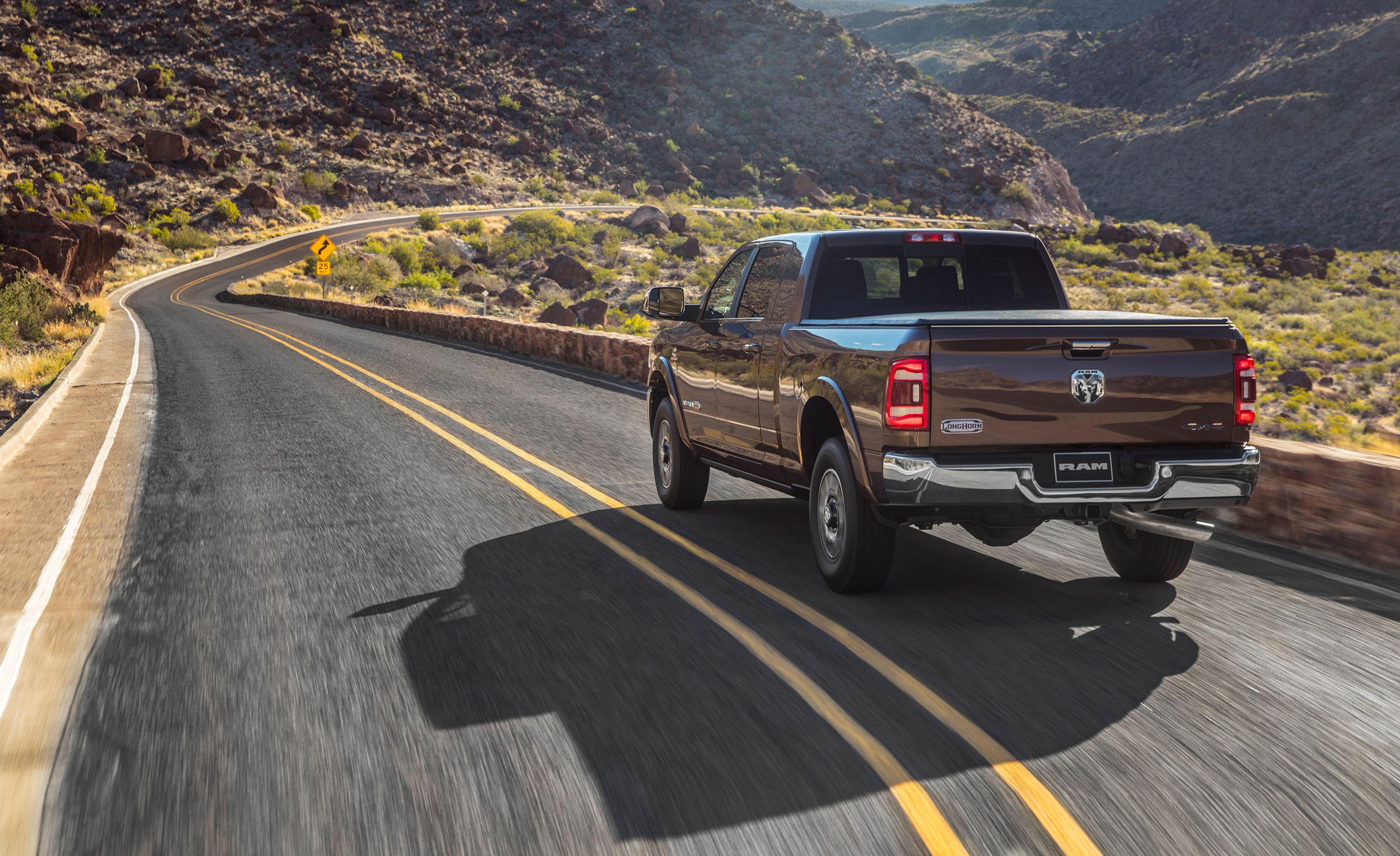 2019 Ram Hd Pickup Truck Cummins Diesel Has 1000 Lb Ft Of Torque