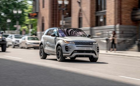 Car And Driver Best Compact Suv 2020 Subcompact 2020 Range Rover Evoque P300 Trades on Style over Function
