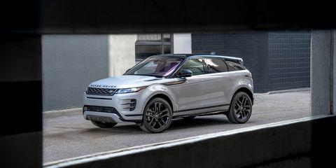 Land vehicle, Vehicle, Car, Automotive design, Sport utility vehicle, Range rover evoque, Range rover, Land rover, Rim, Compact sport utility vehicle,