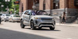2020 Land Rover Range Rover Evoque P300 front