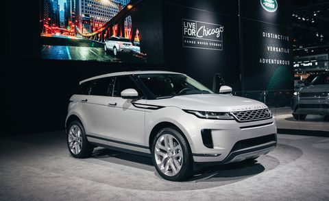 Land vehicle, Vehicle, Car, Automotive design, Auto show, Sport utility vehicle, Motor vehicle, Range rover, Range rover evoque, Land rover,