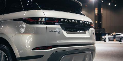 Land vehicle, Vehicle, Car, Auto show, Automotive design, Sport utility vehicle, Range rover, Range rover evoque, Compact sport utility vehicle, Luxury vehicle,