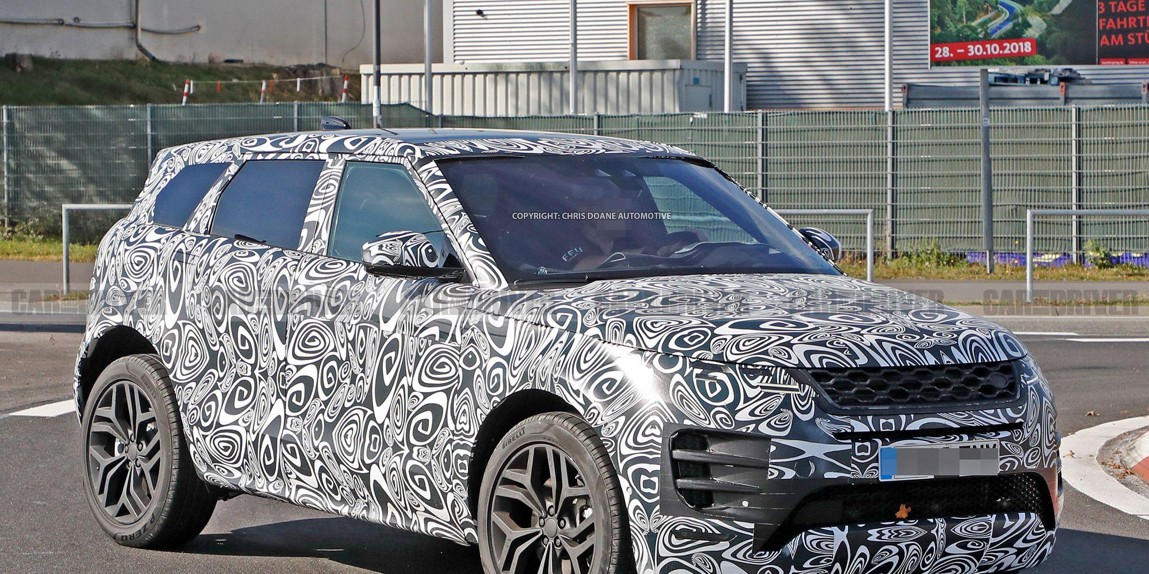 Next Gen Range Rover Evoque Spied Release Date Announced