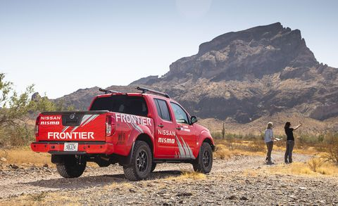 nissan frontier rebelle rally