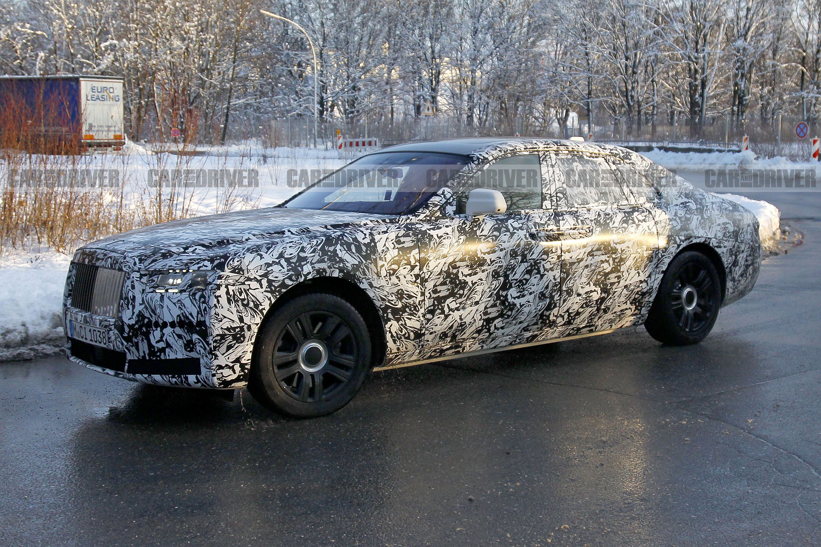 2020 Rolls Royce Ghost Spied New Platform Evolutionary Styling